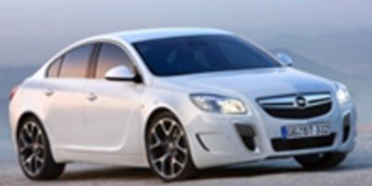 El nuevo Opel Insignia alcanza los 270 km/h
