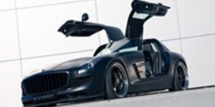 Las curvas y la sensualidad del Kicherer  SLS AMG 63 Supersport GT