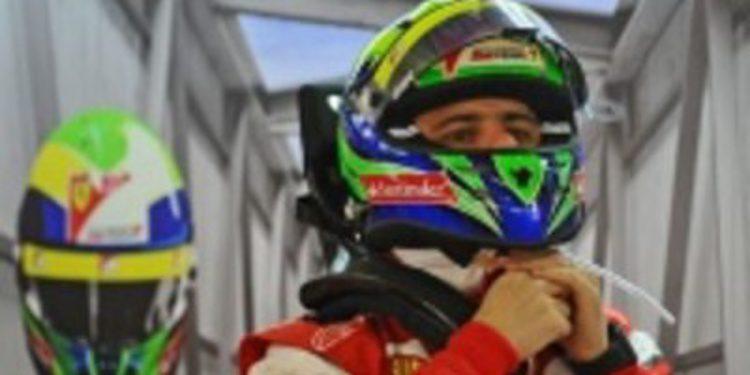 Massa cumple 30 años entre el cariño de sus compañeros en Ferrari