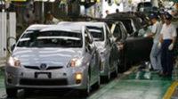 Las fábricas japonesas de automóviles solo producen a la mitad de su capacidad