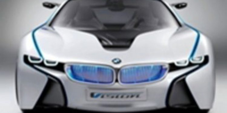 El BMW i8, protagonista de 'Misión Imposible 4'