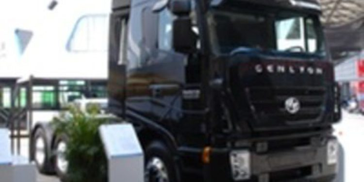 Iveco también expone sus camiones en Shangai