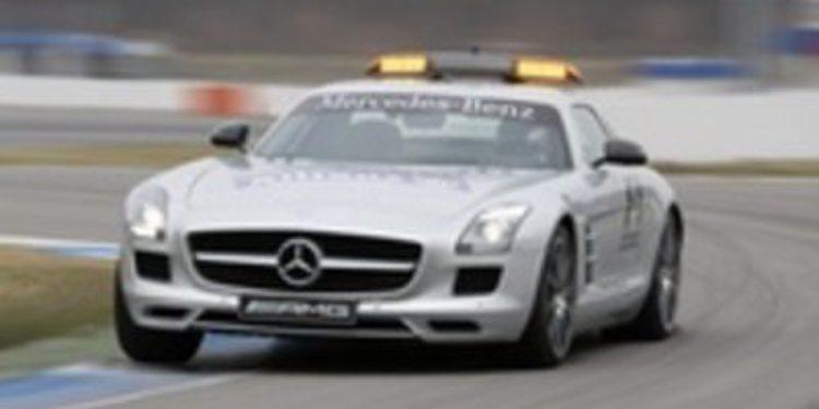 Así es el Safety Car oficial de la F1: el Mercedes-Benz SLS AMG