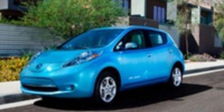 El Nissan LEAF premiado en Estados Unidos por su seguridad