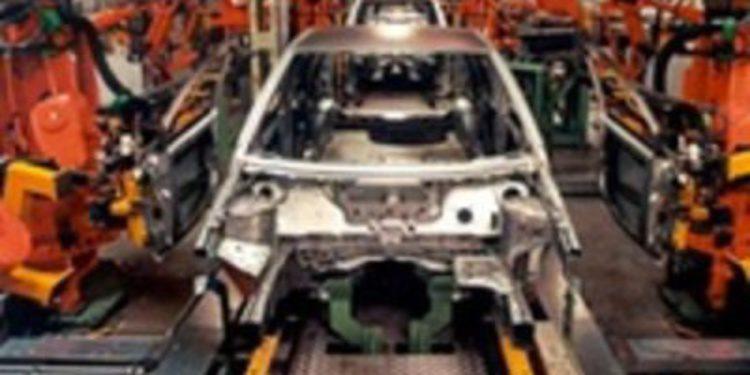 La producción de vehículos tan solo crece un 0,4% en 2011