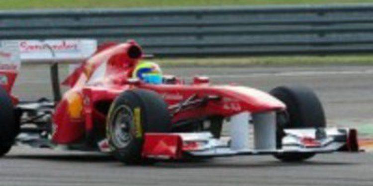 Felipe Massa prueba en Fiorano el 150º Italia B