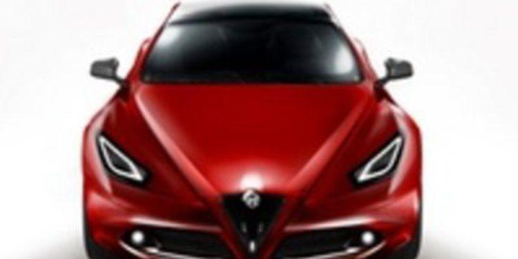 Alfa Romeo Giulia, recreación gráfica