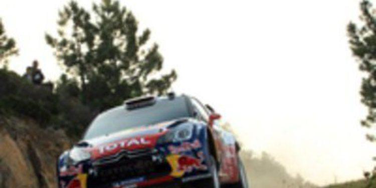 Sebastien Loeb lidera y Dani Sordo es sexto en el Rally de Cerdeña