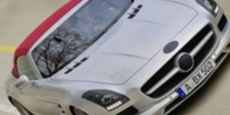 Descubrimos el nuevo SLS AMG Roadster antes de su presentación oficial