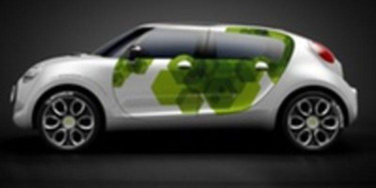 C-Cactus, el coche verde de Citroen