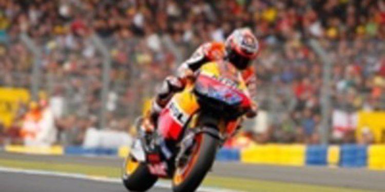 Stoner sigue mandando en la segunda jornada de Le Mans