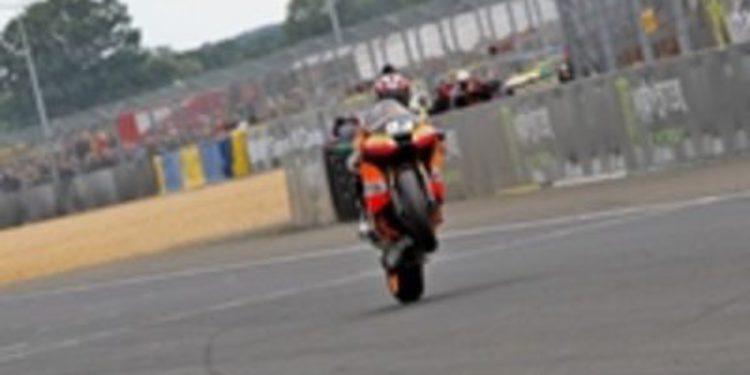 La primera victoria de Márquez llega en Le Mans