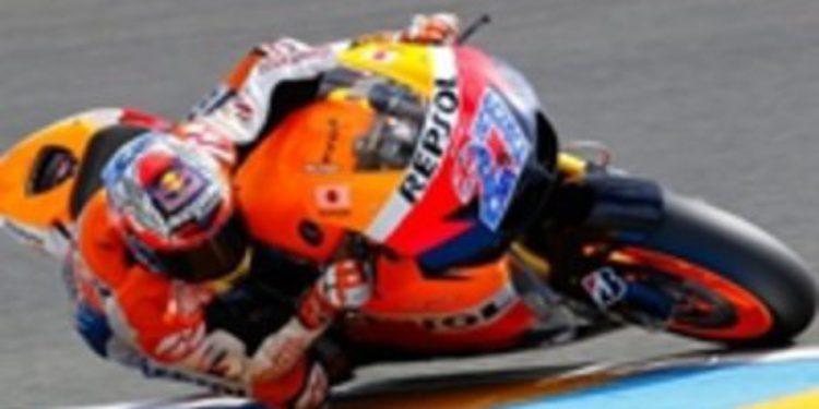 Casey Stoner hace pleno en Le Mans