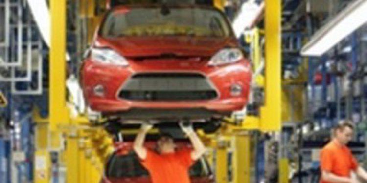 Ford tarda 13 horas en hacer cada modelo del Fiesta