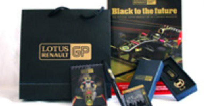 Sorteo de un 'media-set' del equipo Lotus Renault GP de Fórmula 1