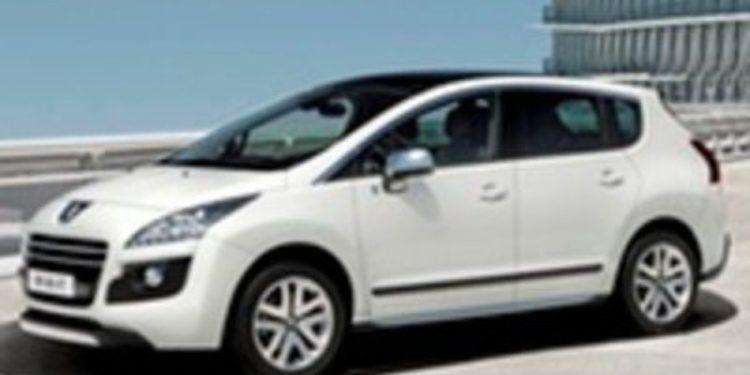 Peugeot lleva a Barcelona el primer híbrido diésel del mundo: 3008 HYbrid4