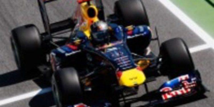 La F1 sigue siendo el juguete de Red Bull: pole para Webber y Vettel, segundo
