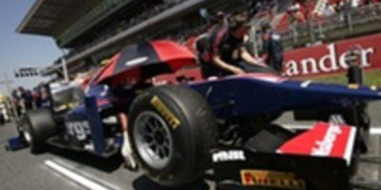Dani Clos logra subir al podio de Montmeló en la GP2