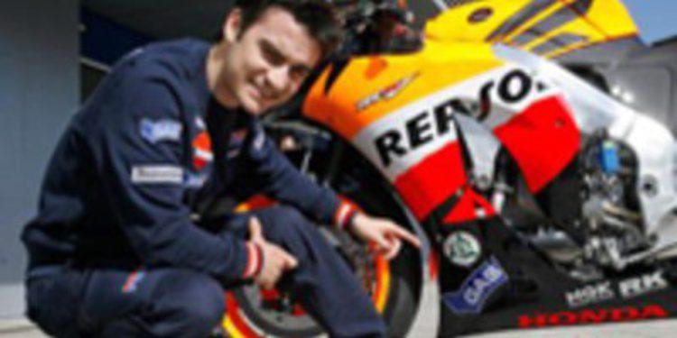 Dani Pedrosa comienza la recuperación para estar en el GP de Montmeló