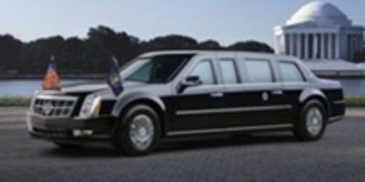 La limusina de Obama se queda atascada en una rampa