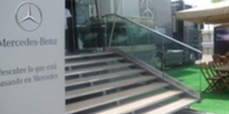 Mercedes-Benz organiza una caravana para exponer sus novedades 2011