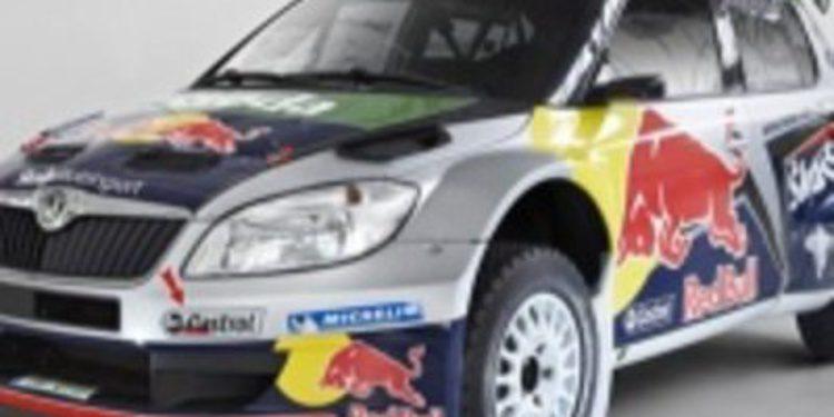 El Team Skoda Red Bull debutará en el rallie de México este fin de semana