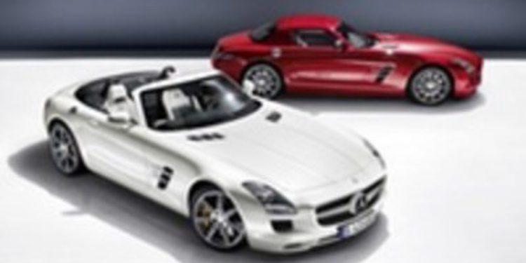 La perfección es el SLS AMG Roadster