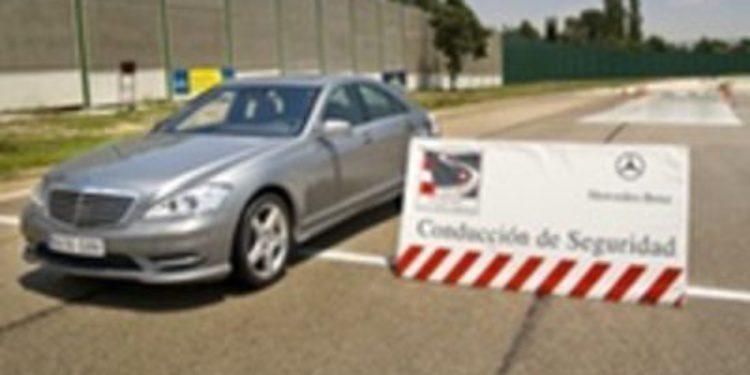 Mercedes-Benz imparte cursos de conducción en el Jarama, en Montmeló y Cheste