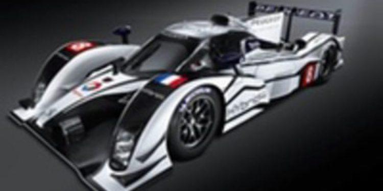 Peugeot presenta el coche y el equipo que correrá en las 24 Horas de Le Mans
