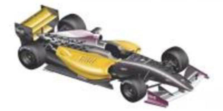 Nuevo monoplaza para la temporada 2012 de la Fórmula Renault 3.5