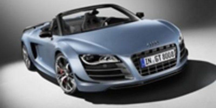 Audi R8 GT Spyder, el R8 más radical ahora descapotable