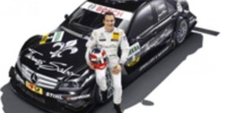 Paffett es el primer piloto de Mercedes confirmado para 2012 en el DTM