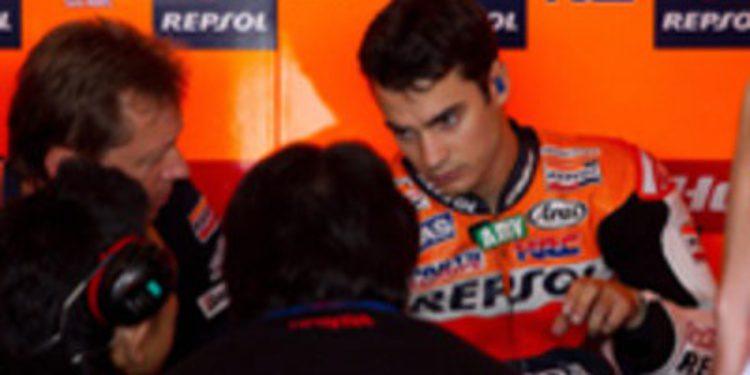 Dani Pedrosa admite que no sabe si disputará el Gran Premio de Holanda