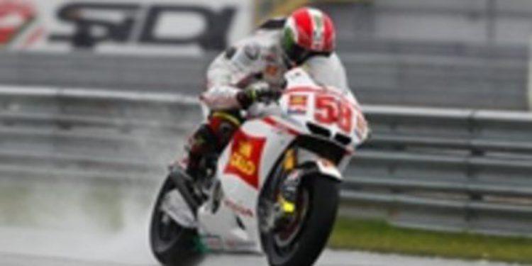 Simoncelli, el mejor de la FP1 en Assen