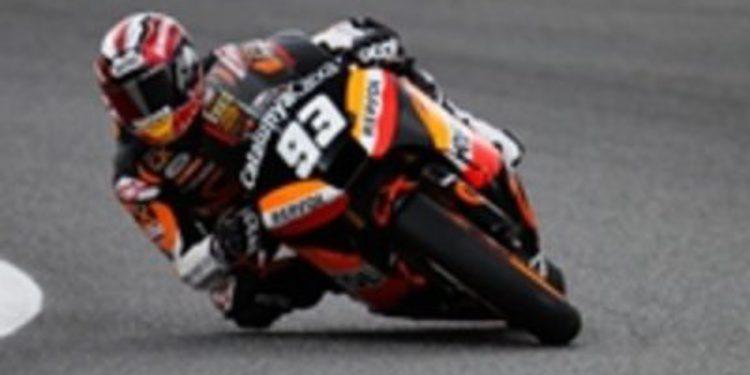 Márquez repite victoria en Assen