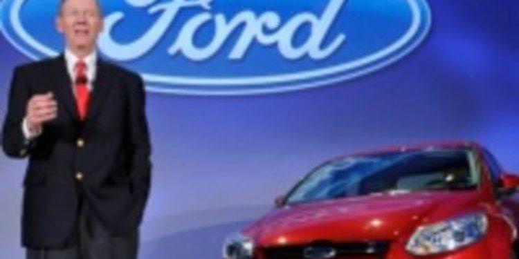 El jefe Mundial de Ford, Alan Mulally presenta en Valencia el nuevo Focus