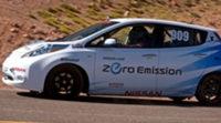 El Nissan Leaf consigue una victoria histórica en la mítica subida al Pikes Peak