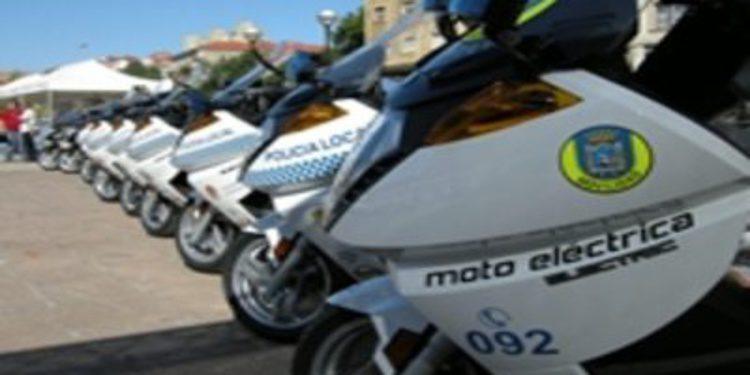La eléctrica Vectrix, la moto de los cuerpos de seguridad españoles