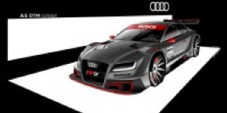 Audi presenta su proyecto: Audi A5-DTM
