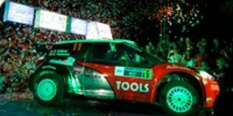 Rallie de México 2011: Peter Solberg primer líder