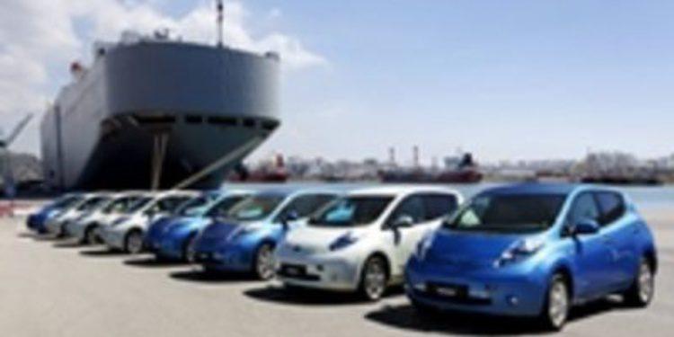 Llegan a España los primeros Nissan LEAF destinados a la venta