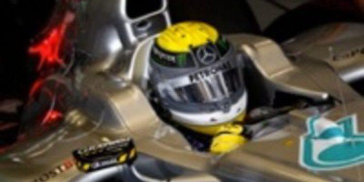 """Rosberg: """"Nadie podría ganar con mi coche"""""""