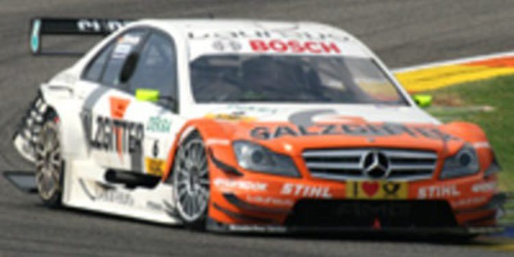 Ralf Schumacher extiende su contrato con Mercedes para el 2012