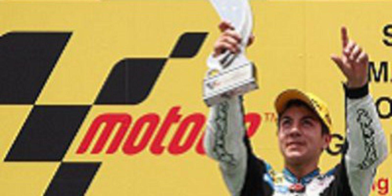 Victoria de Maverick Viñales en 125cc en el GP de Malasia 2011