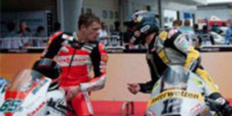 Thomas Lüthi logra su primera victoria en Moto2 y Stefan Bradl es segundo en el GP de Malasia