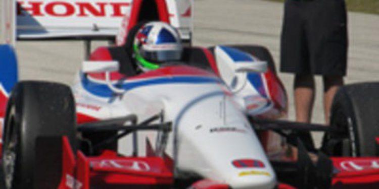 Nuevo test del monoplaza de la IndyCar del próximo año