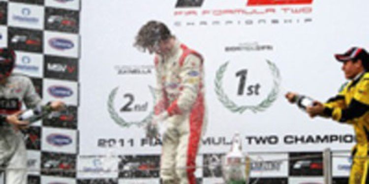Mirko Bortolotti se muestra intratable en la segunda carrera de Barcelona