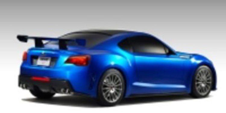 Primera aparición del Subaru BRZ Concept