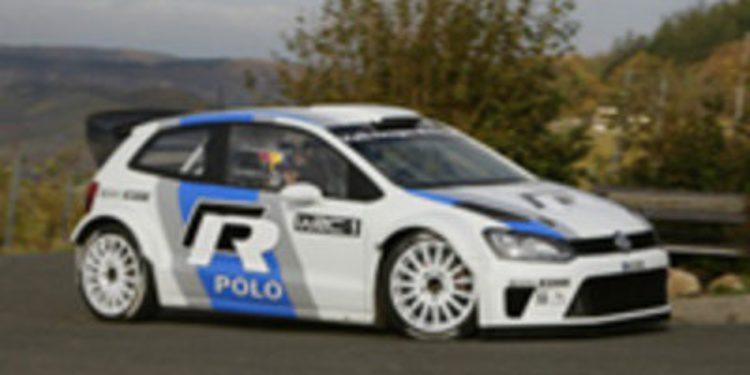 Primer test del Volkswagen Polo R WRC, que competirá en 2013