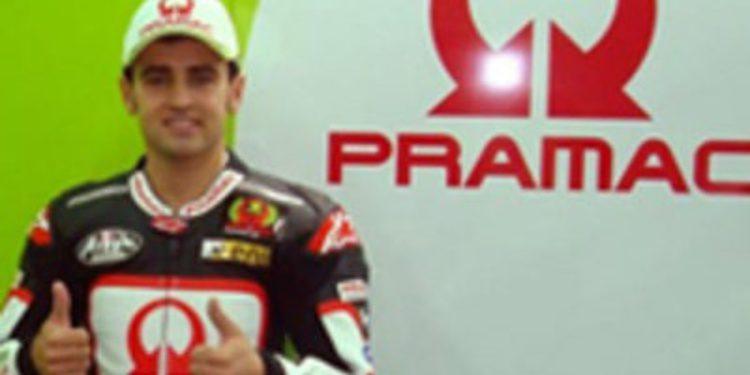 Héctor Barberá correrá en 2012 en el equipo Pramac Ducati de MotoGP